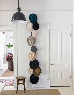 帽子・キャップを活用した見せる収納方法 保管しながらインテリア! Poptie