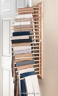 ズボンをきれいに収納して簡単に整理上手になる方法 Poptie