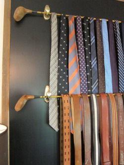 ネクタイを上手に収納する方法!きれいにまとめて片づけ上手 Poptie