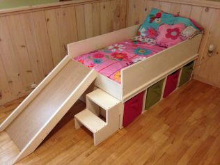 Diy poptie for Creative bed frames diy