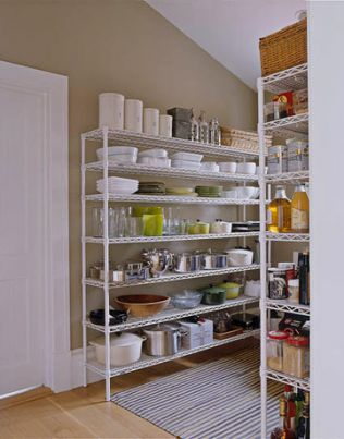 Commercial Kitchen Storage Pantries
