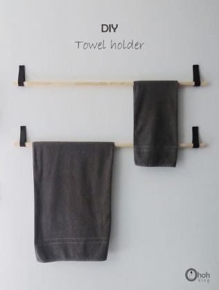 Toilet Towel Hanger